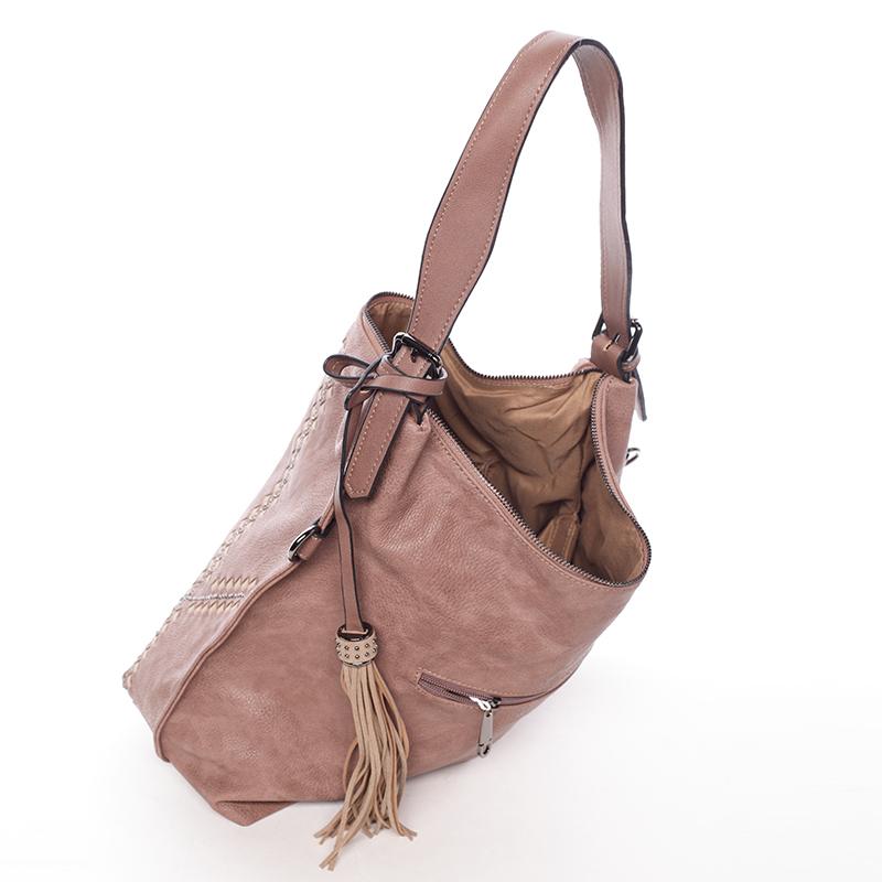 Stylová kabelka Emily, růžová