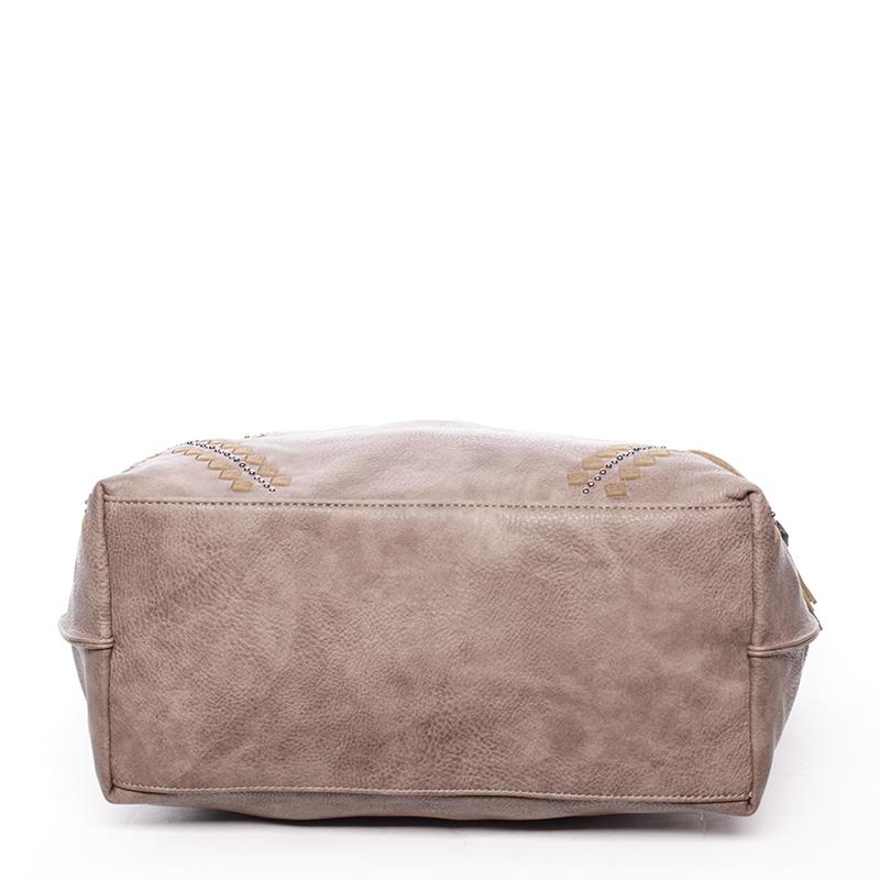 Stylová kabelka Emily, oříšková