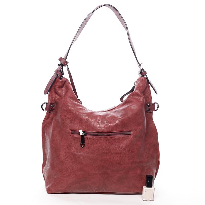 Stylová kabelka Emily, červená