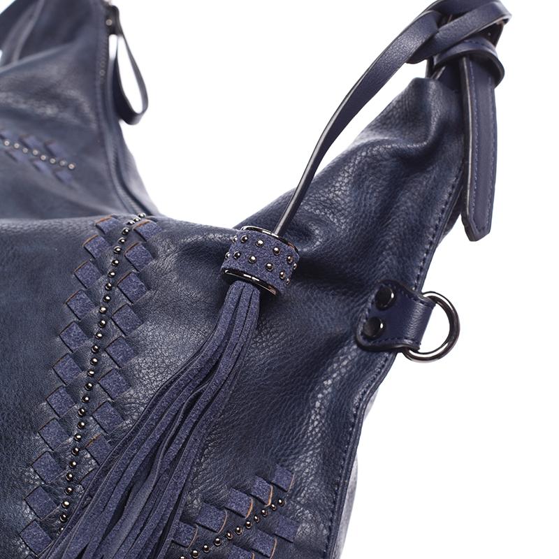 Stylová kabelka Emily, modrá
