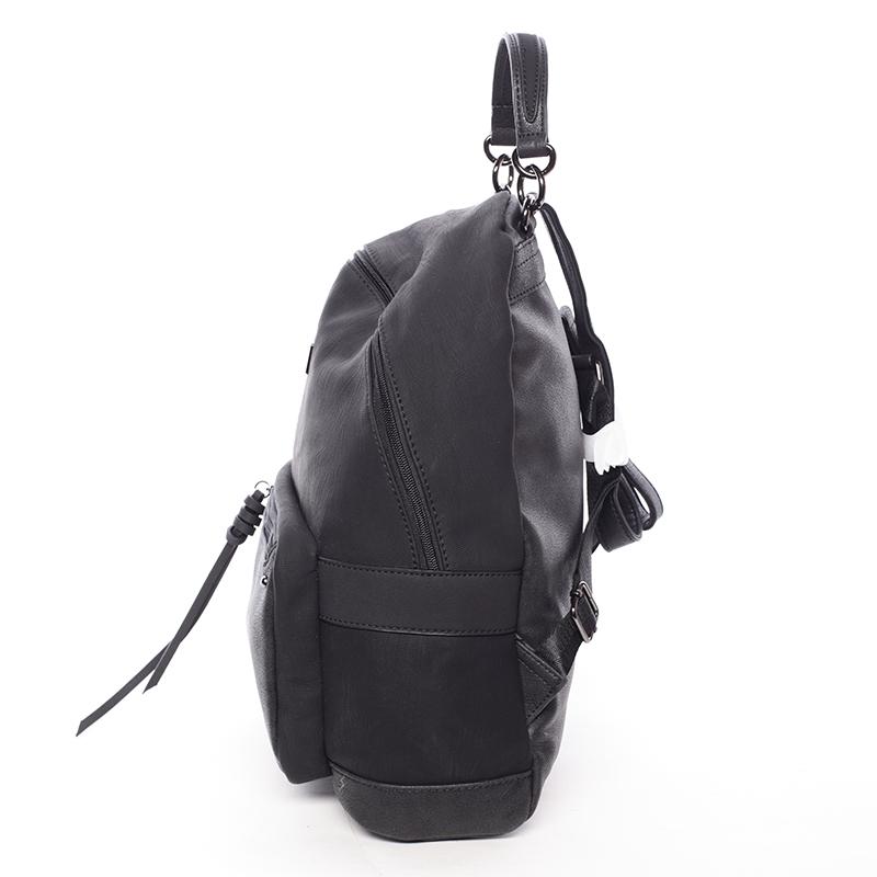 Dámský prostorný batoh Ericka, černý