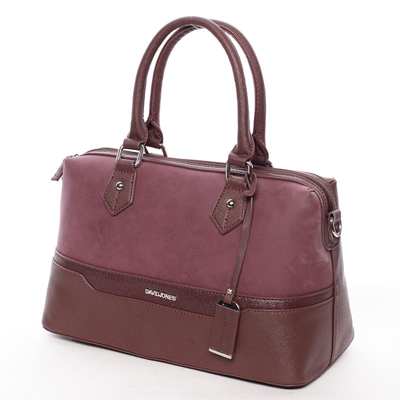 Dámská stylová kabelka Gracie, vínová