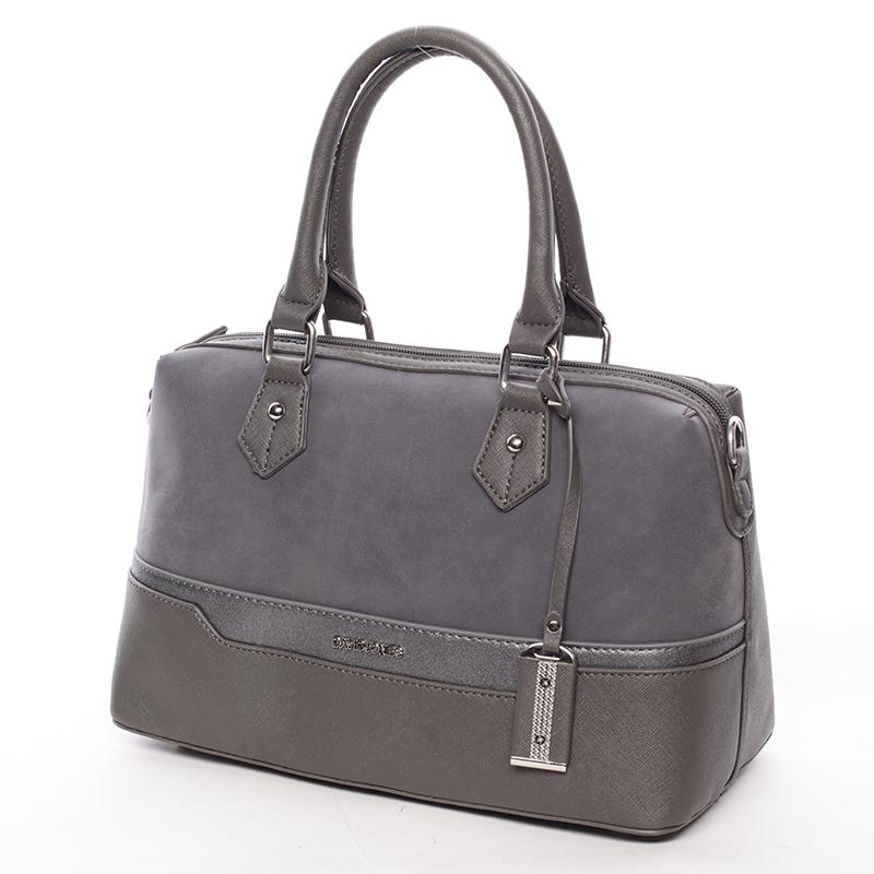 Dámská stylová kabelka Gracie, tmavě šedá
