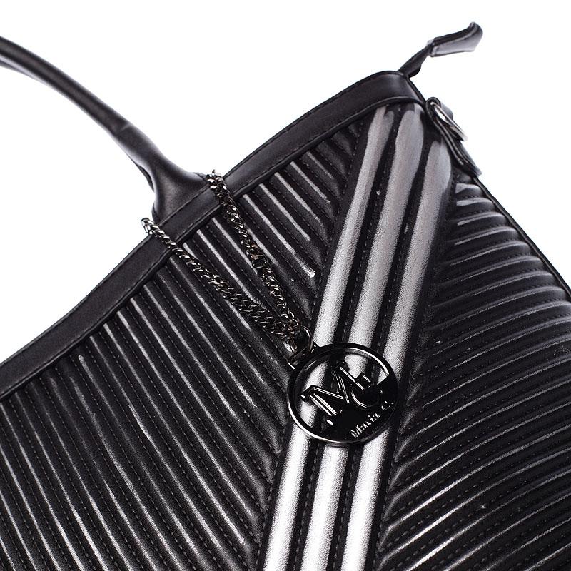 Trendy kabelka přes rameno Haylee, černá