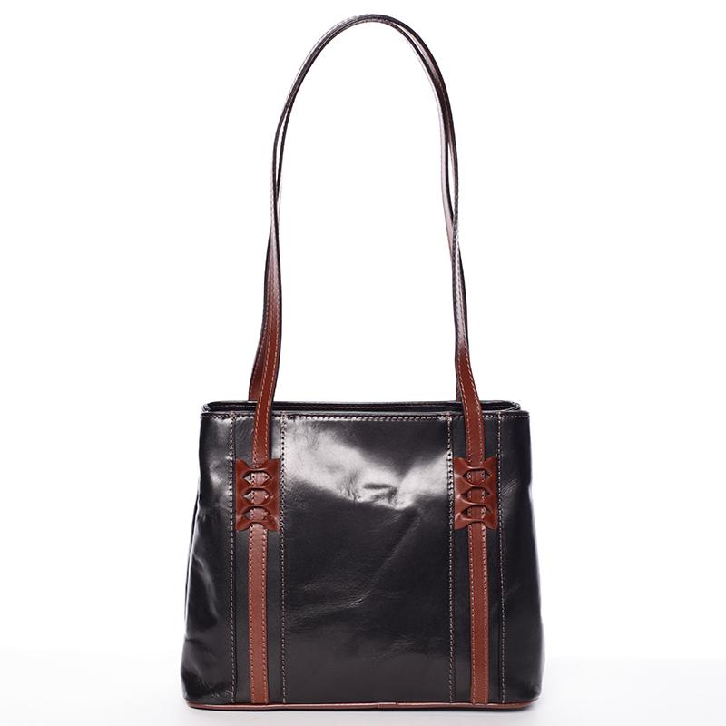 Kožená dámská kabelka Flor 83b343f5f8f