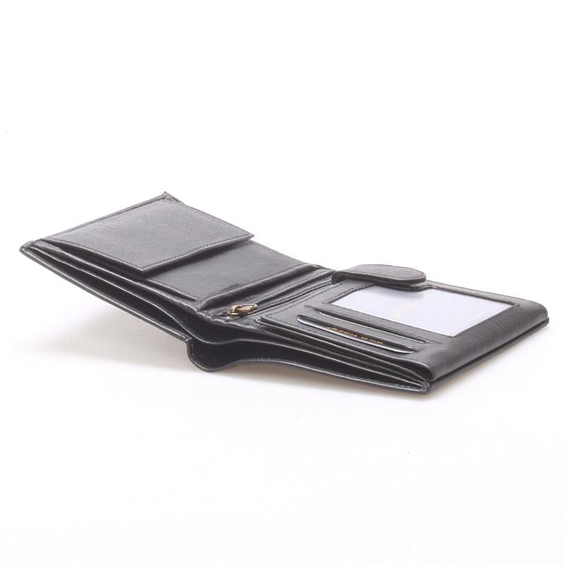 Pánská kožená peněženka černá - WILD