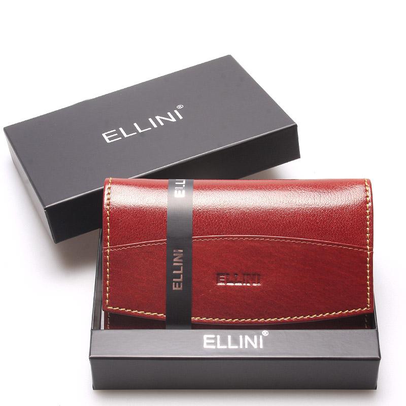 Elegantní kožená hnědá dámská peněženka Anja