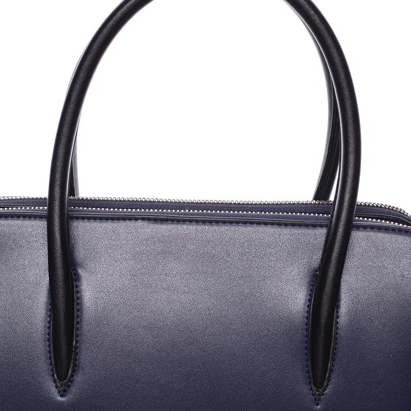 Dámská stylová kabelka do ruky i přes rameno Linda, modrá