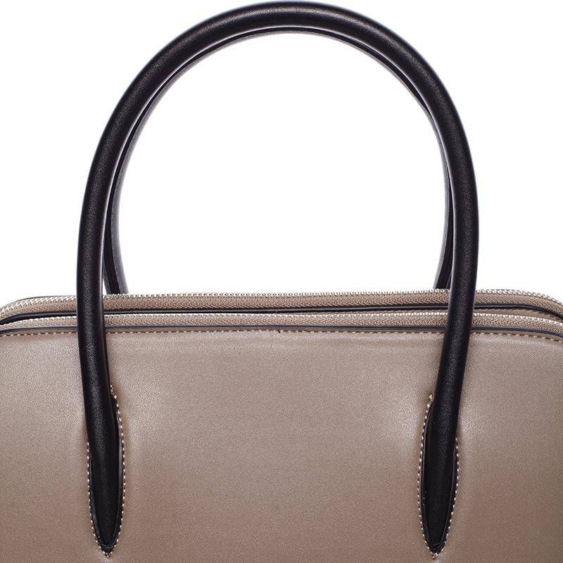 Dámská stylová kabelka do ruky i přes rameno Linda, hnědá