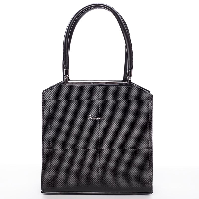 Luxusní kabelka do ruky Mackenzie, černá new