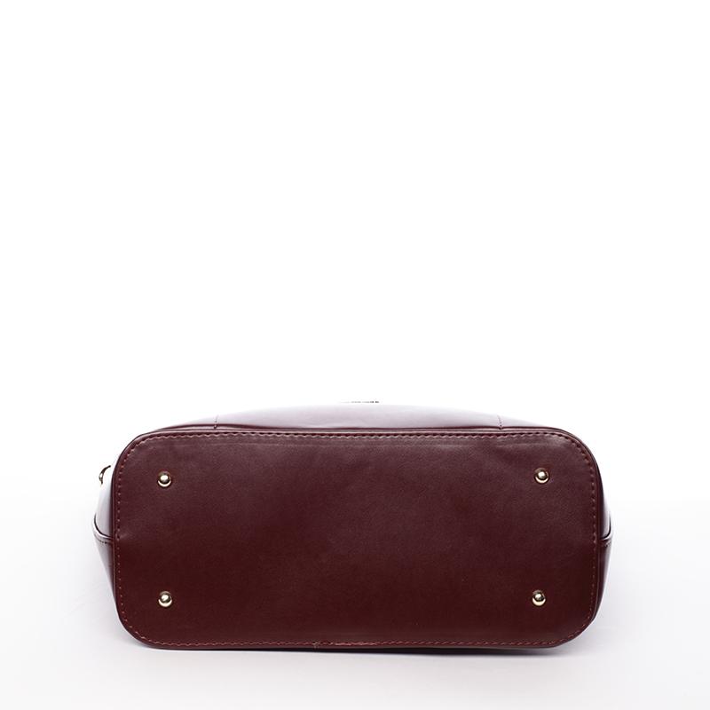 Luxusní kabelka přes rameno Regina, bordó