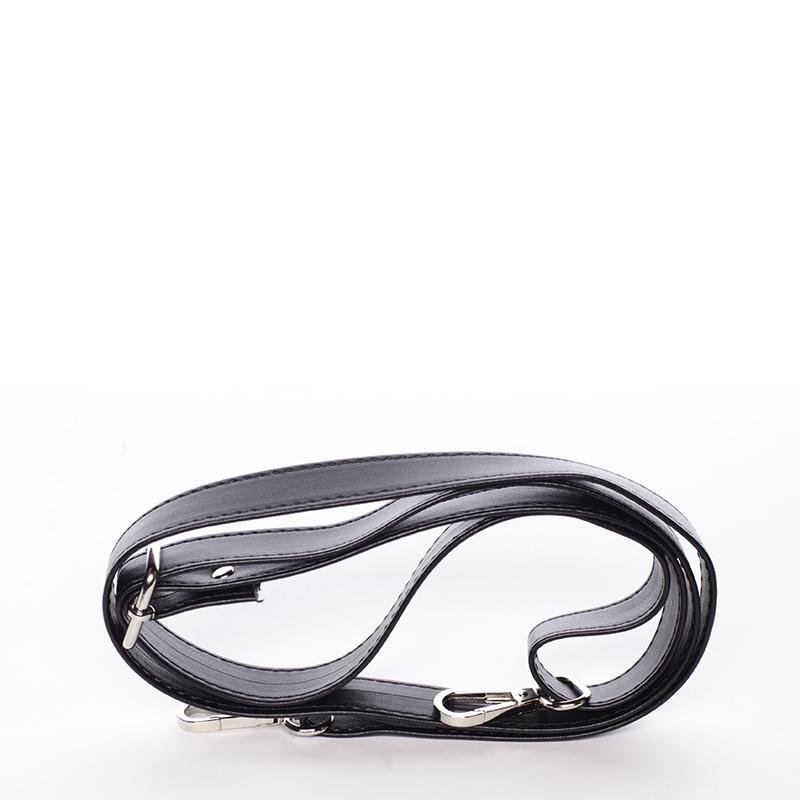 Dámská značková kabelka přes rameno Delami Sherry, černá