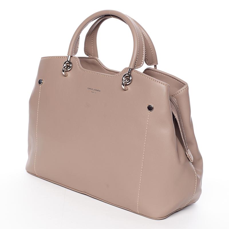 Dámská elegantní kabelka do ruky David Jones Desiderai, camel