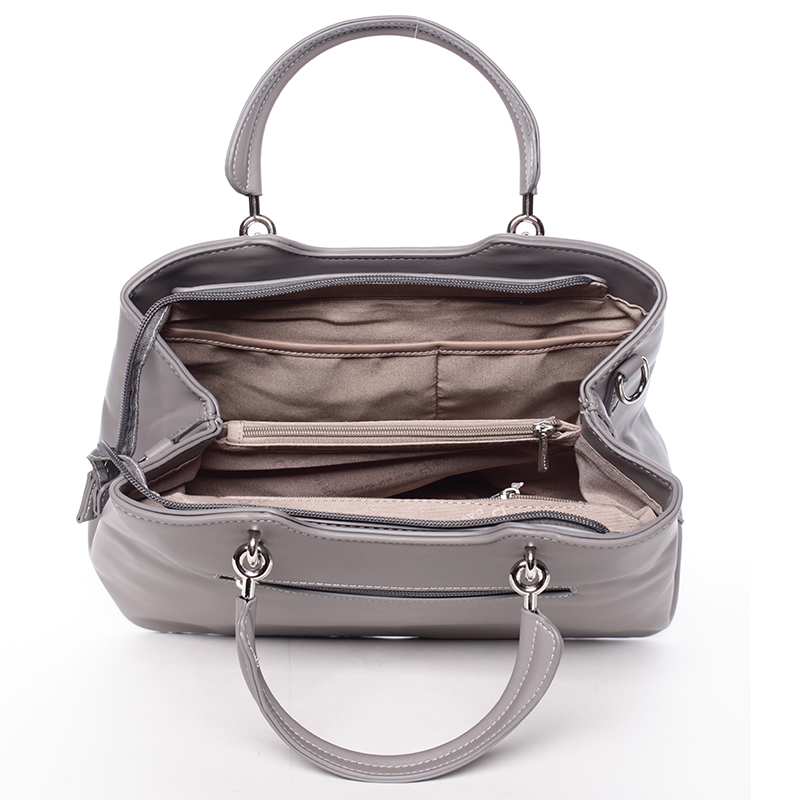 Dámská elegantní kabelka do ruky David Jones Desiderai, šedá