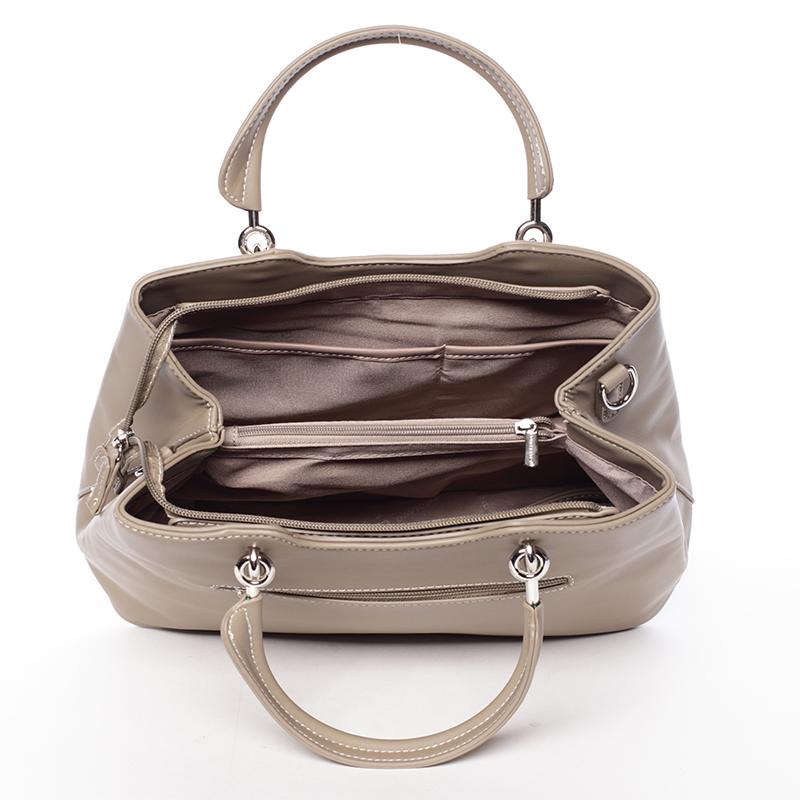Dámská elegantní kabelka do ruky David Jones Desiderai, khaki