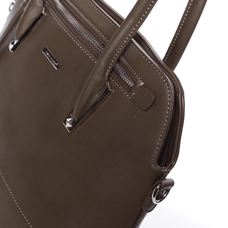 Elegantní dámská kabelka do ruky David Jones Patty, khaki