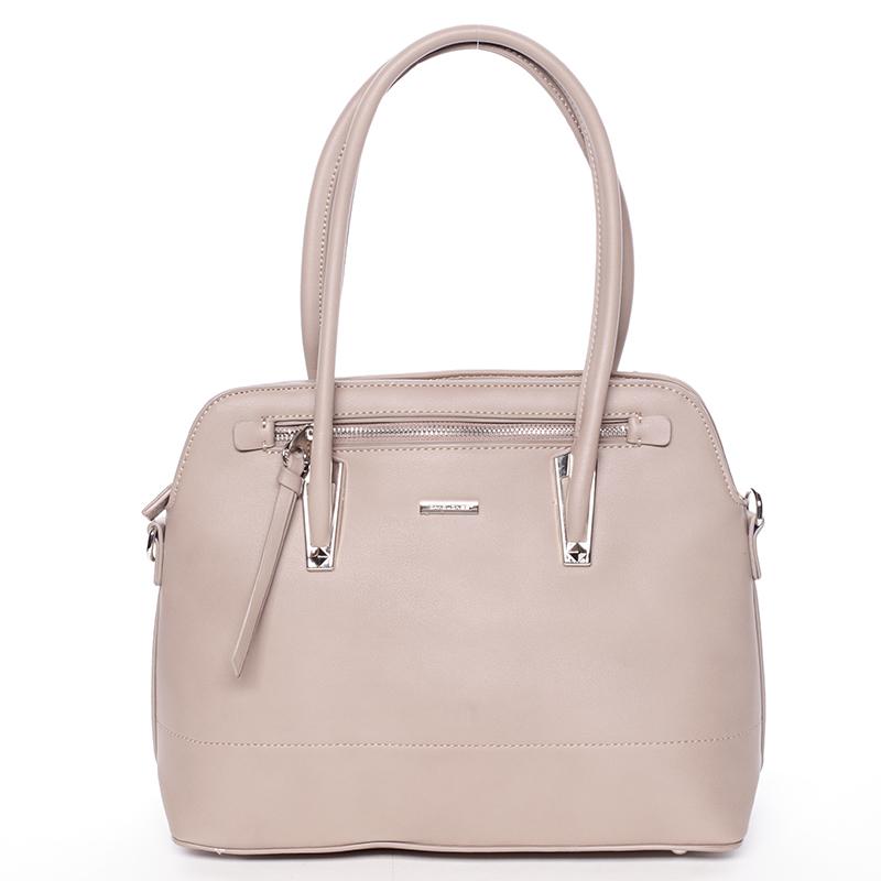 Elegantní dámská kabelka do ruky David Jones Patty, camel