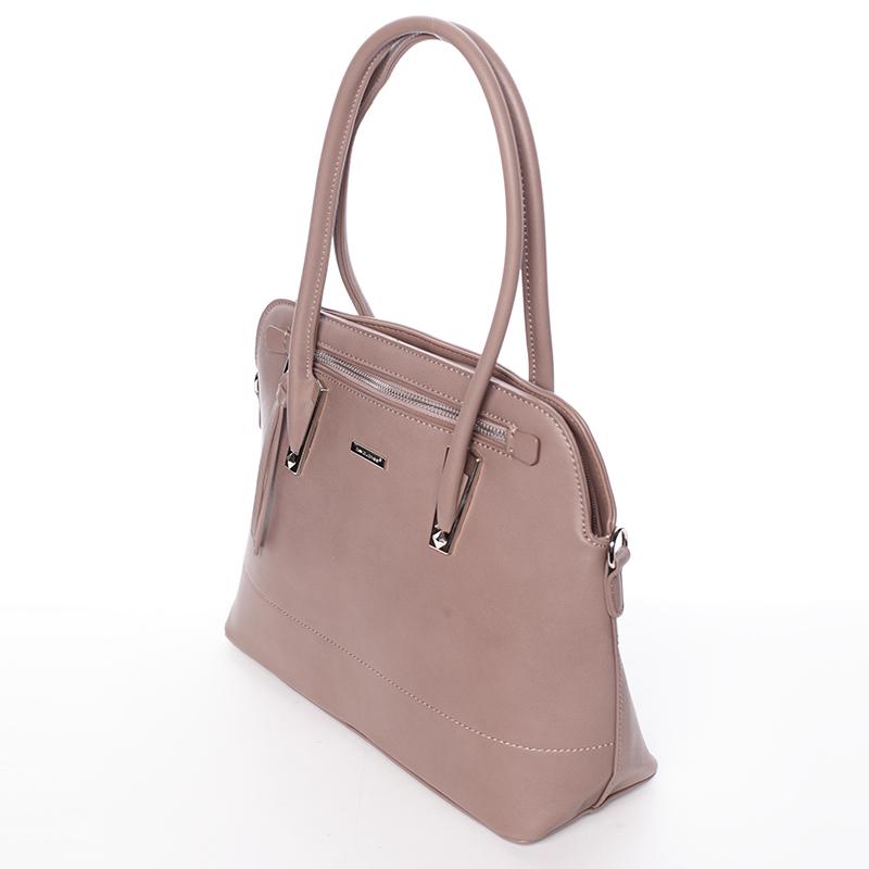 Elegantní dámská kabelka do ruky David Jones Patty, tmavě růžová