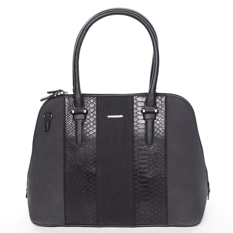 Designová dámská kabelka do ruky David Jones Karen, černá