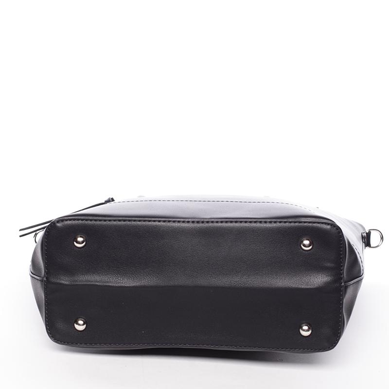 Designová dámská kabelka do ruky David Jones Leny, černá