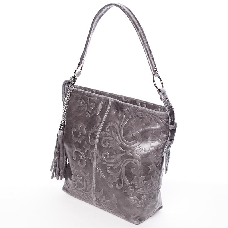 Stylová dámská kabelka Anjali, šedá new