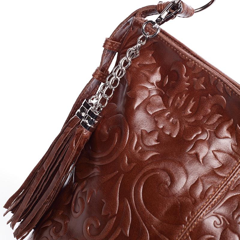 Stylová dámská kabelka Anjali, hnědá new