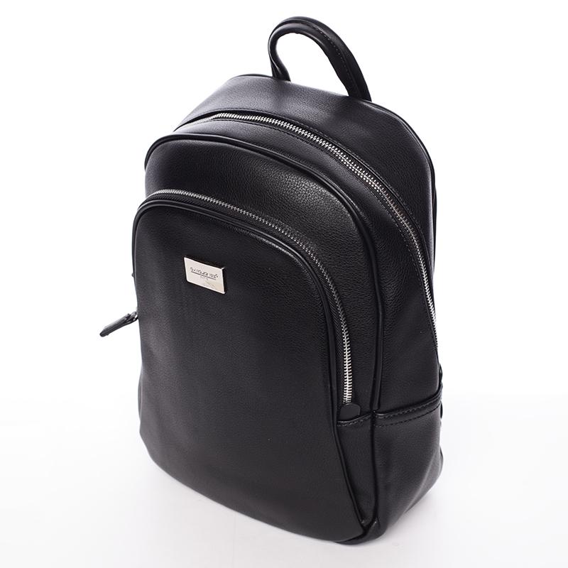 Dámský stylový batůžek David Jones University, černý