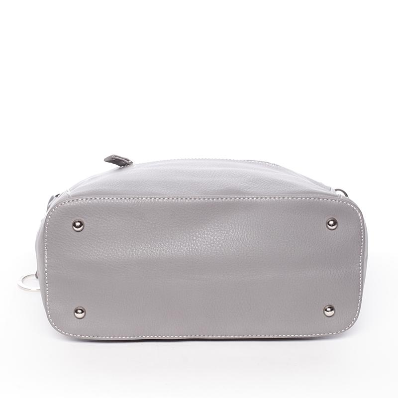 Dámská elegantní kabelka do ruky David Jones Diana, tmavě šedá