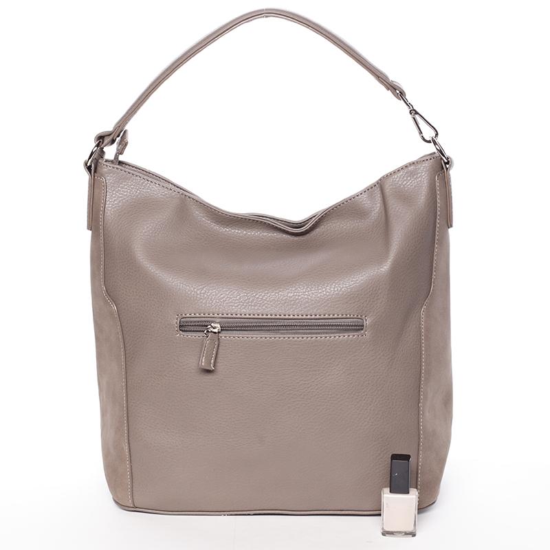 Dámská elegantní kabelka do ruky David Jones Diana, taupe