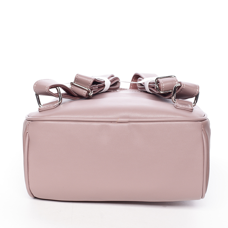 Dámský elegantní batůžek David Jones Avis, tmavě růžový