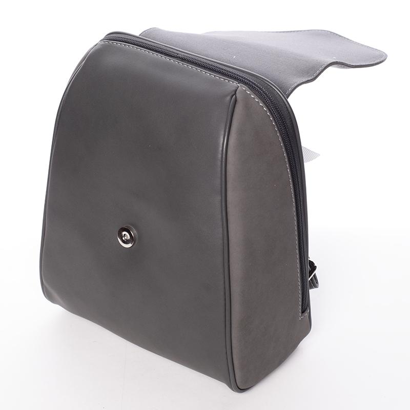 Dámský elegantní batůžek David Jones Avis, tmavě šedý