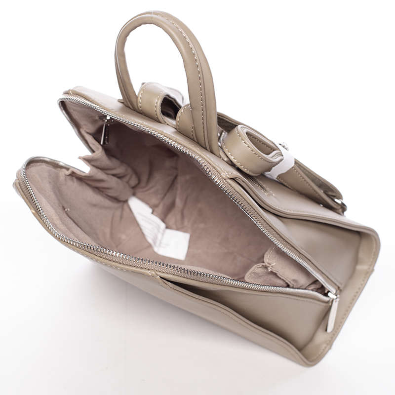 Dámský módní batůžek David Jones Penny, khaki