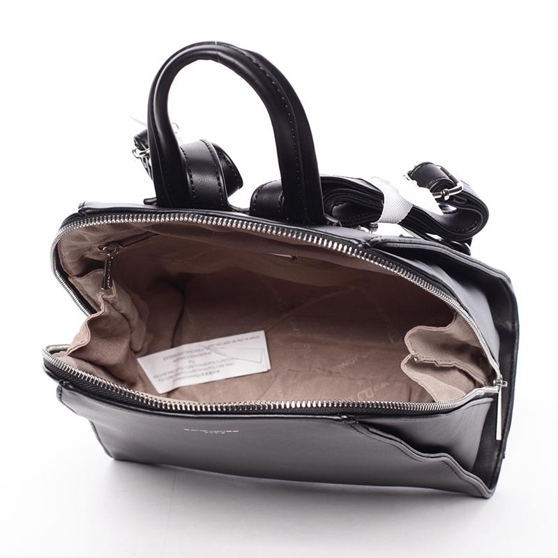 Dámský módní batůžek David Jones Penny, černý