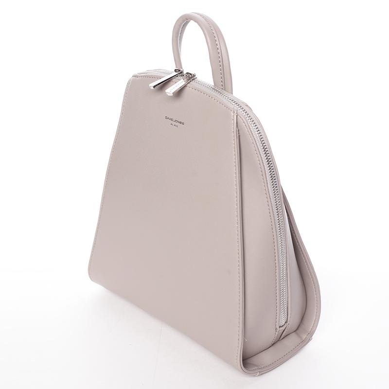 Dámský módní batůžek David Jones Penny, šedý