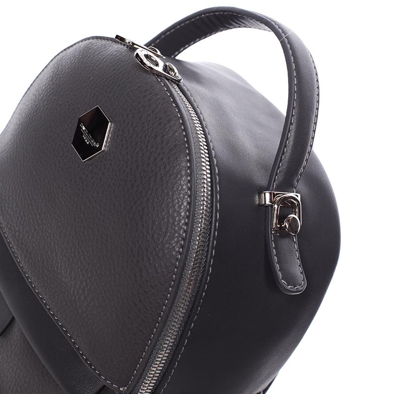 Dámský malý batůžek David Jones Henrietta, tmavě šedý