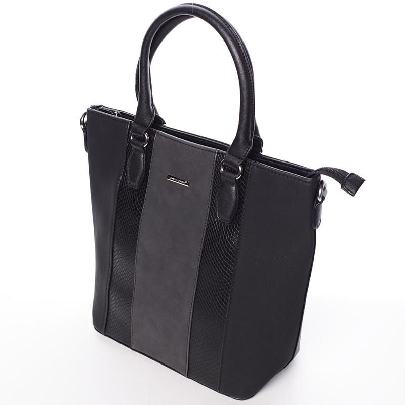 Dámská luxusní kabelka do ruky David Jones Celia, černá
