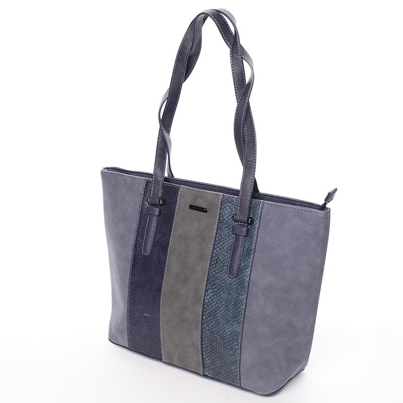 Dámská trendy kabelka do ruky David Jones Pamela, tmavě modrá