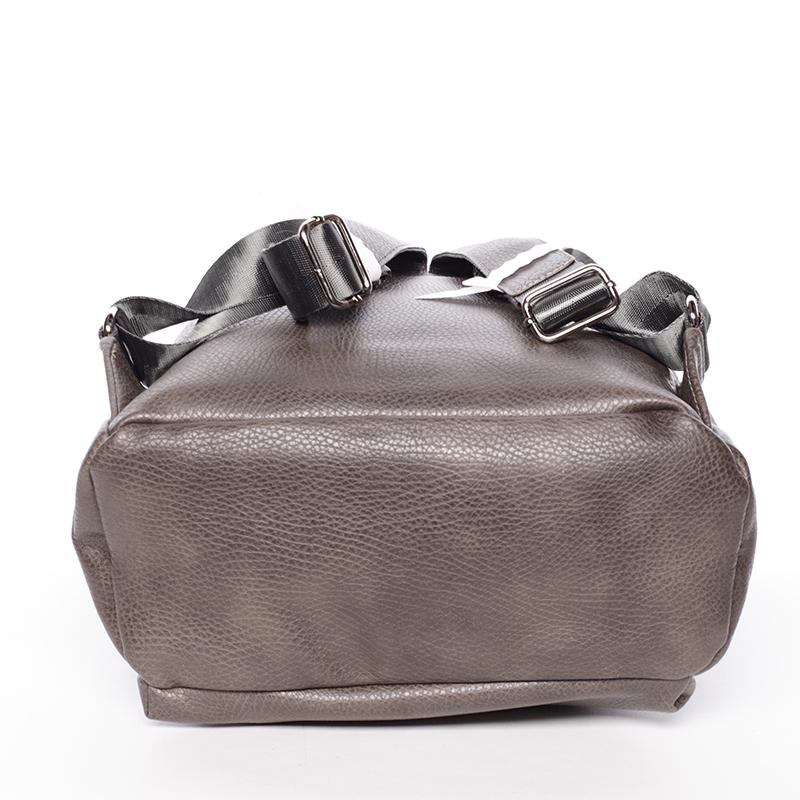 Stylový studentský batoh David Jones GiddyGiddy, šedá