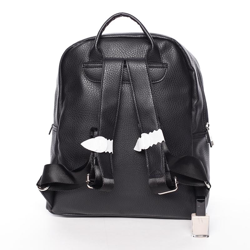 Stylový studentský batoh David Jones GiddyGiddy, černá
