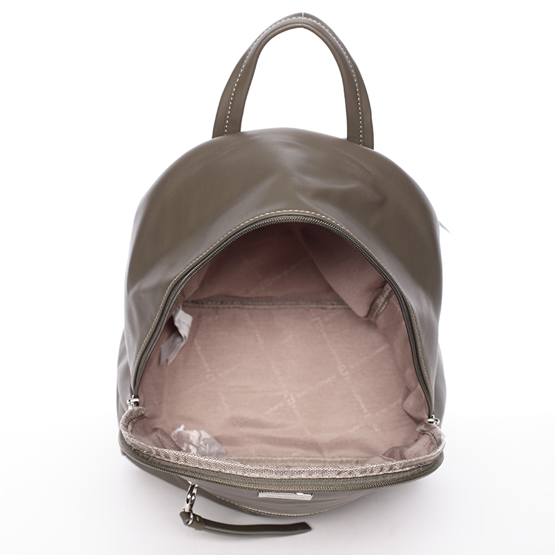 Dámský menší batůžek David Jones Dora, khaki