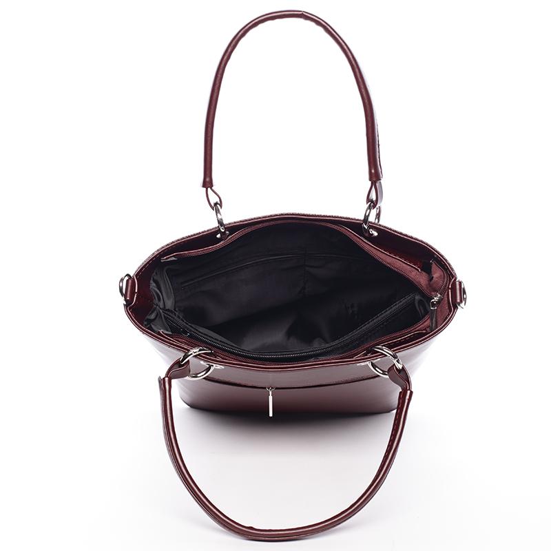Stylová matná kabelka Ardis, bordo