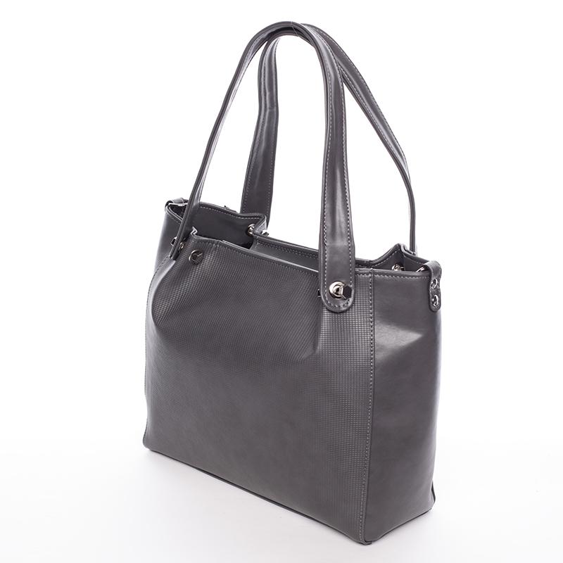 Stylová dámská kabelka přes rameno Encarnición, šedá