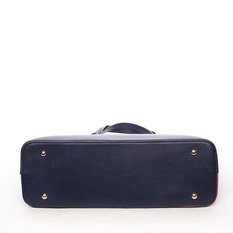Dámská originální kabelka přes rameno Editha, modro-červená