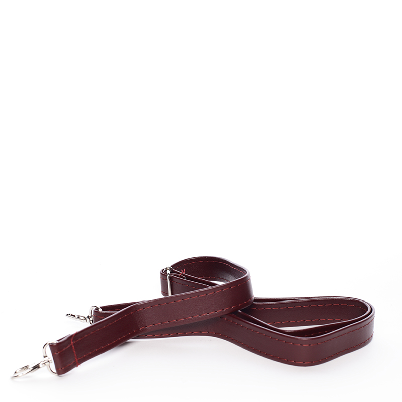 Luxusní kabelka do ruky Monique, bordó hrubá