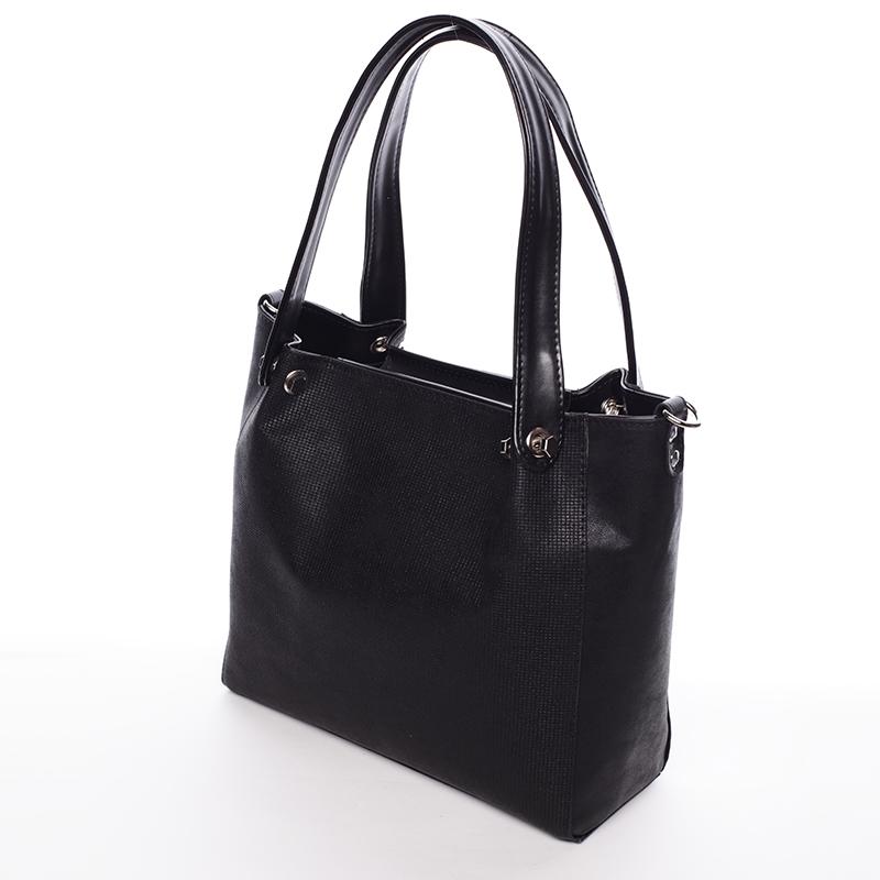 Stylová dámská kabelka přes rameno Encarnición, černá