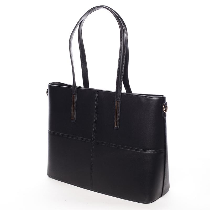 Dámská originální kabelka přes rameno Editha, černá