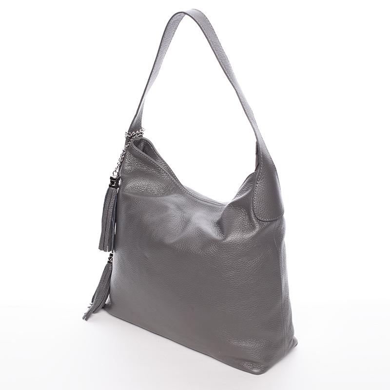 Elegantní kabelka Devon, šedá