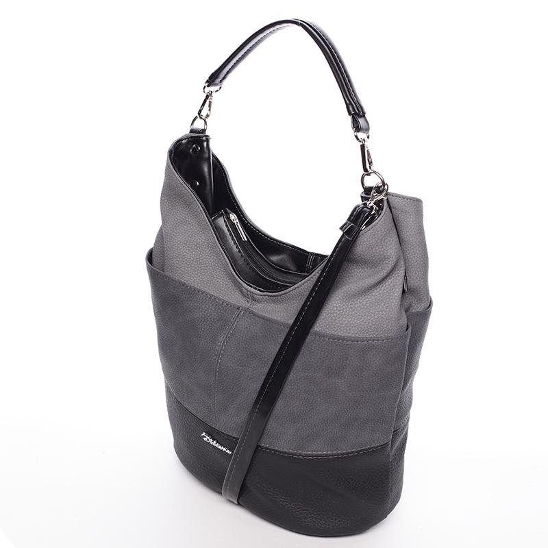 Okouzlující kabelka Salma, tmavě šedá