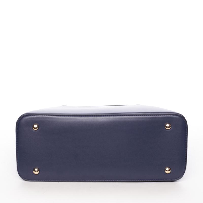 Trendy kabelka do ruky Leandra, modrá