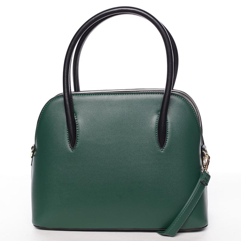 Trendy kabelka do ruky Leandra, zelená